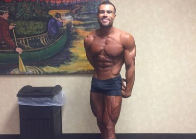 Dominick Goldston - 2017 NPC Milwaukee Muscle Madness - Best Fit Classic Physique Trunks
