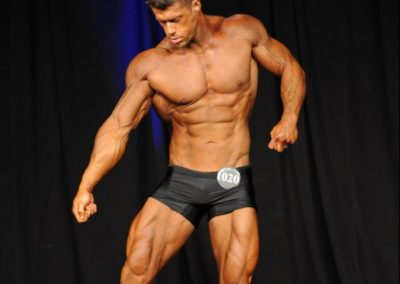 Tim Robinson - 2017 NPC Teen Collegiate & Masters National Championships - Best Fit Classic Physique Trunks
