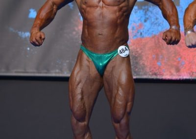 Keith Farrell - 2017 IFBB European Championships - Best Fit Posers