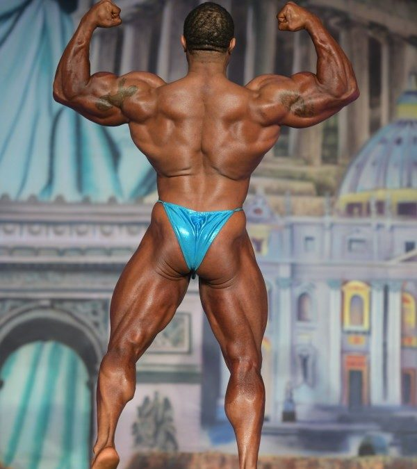 Cinched 1/2 Back Posing Suit