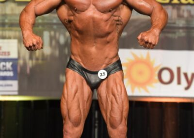 Tim Tevin – 2020 IFBB Baltimore Classic Masters Pro
